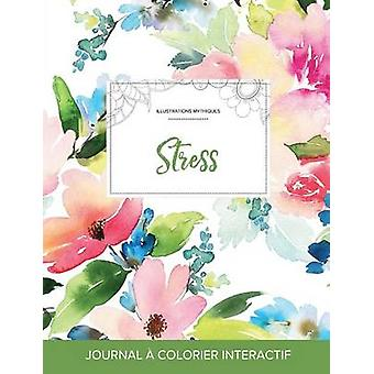 Journal de coloration adulte Stress Illustrations mythiques Floral pastel by Wegner & Courtney