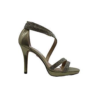Damen's Nina Alissa Sandale, Größe 10 M - Metallic