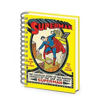 Dc Superman No.1 A5 Notebook