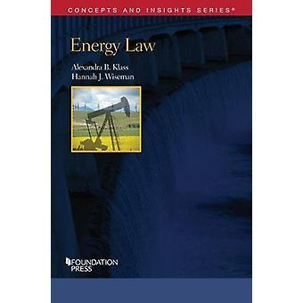 Energy Law by Alexandra B. Klass - 9781634602907 Book