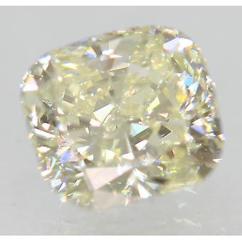 Certified 0.91 Carat J Color VVS1 Cushion Natural Loose Diamond 5.61x5.24mm 2EX