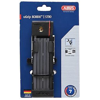 Abus uGrip Bordo 5700 Fold Lock Bike Folding 5Mm Steel Bars Automatic Cylinde