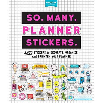 So. Many. Planner Stickers. - 2 -600 Stickers to Decorate - Organise -