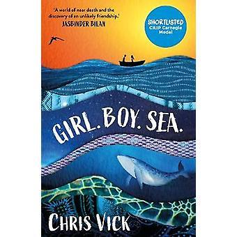 Tyttö. Poika. Sea. kirjoittanut Chris Vick - 9781789541380 Kirja