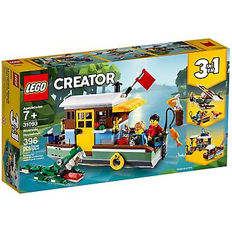 LEGO 31093 Houseboat by the river
