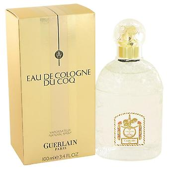Du Coq Eau De Cologne Spray da Guerlain 3.4 oz Eau De Cologne Spray