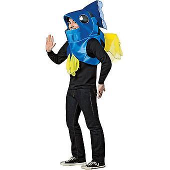 Blå fisk Adult kostym