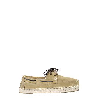 Manebí M26k0 Men's Beige Leather Lace-up Shoes