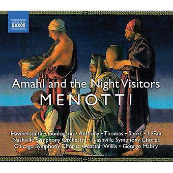 G.C. Menotti - Gian Carlo Menotti: Amahl and the Night Visitors [CD] USA import