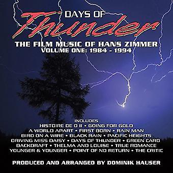 Hans Zimmer - Days of Thunder / O.S.T. [CD] USA import