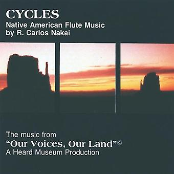 R. Carlos Nakai - Cycles [CD] Usa import