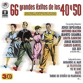 66 Grandes Exitos 40-50 [CD] USA import