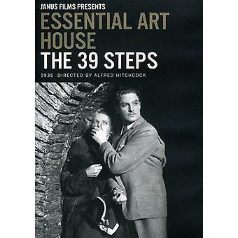39 Steps [DVD] USA import