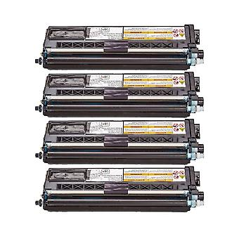RudyTwos 4x Replacement for Brother TN326C Toner Unit Cyan Compatible with HL-4150CDN, HL-4140CN, HL-4570CDW, HL-4570CDWT, MFC-9460CDN, MFC-9560CDW, MFC-9970CDW, DCP-9055CDN, DCP-9270CDN, MFC-9465CDN,