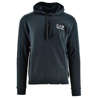 EA7 Night Blue Hooded Sweatshirt
