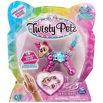 Twisty Petz Single Pack Series 4 - Honeydrop Unicorn - Rainbow Or Metallic