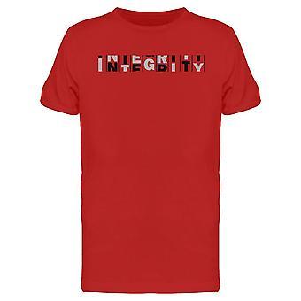 Integrity Design Tee Men's -Imagen de Shutterstock