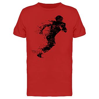 American Football Player Design Tee Men's -Image by Shutterstock