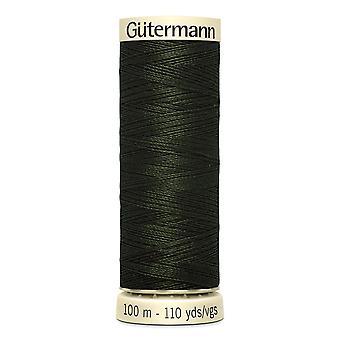 Gutermann Naai-alle 100% polyester draad 100m hand en machine kleurcode - 304