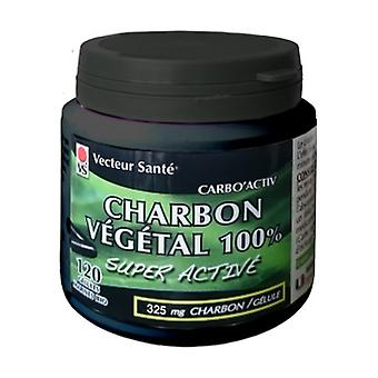 carbo'activ charbon 100% 120 tablets