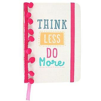 Something Different Think Less A6 Notebook