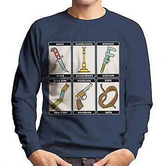 Hasbro Cluedo Classic Icons Men's Sweatshirt