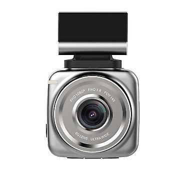 Dashcam 1080 HD, autokamera s snímačom pohybu - šedá