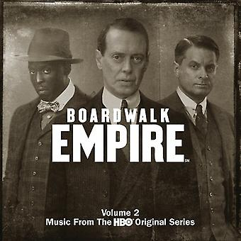 Various Artists - Boardwalk Empire Vol. 2: Music From the HBO Series [CD] USA import