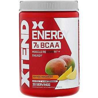 Xtend, Xtend Energy, 7G BCAA, Mango Madness, 12.3 oz (348 g)