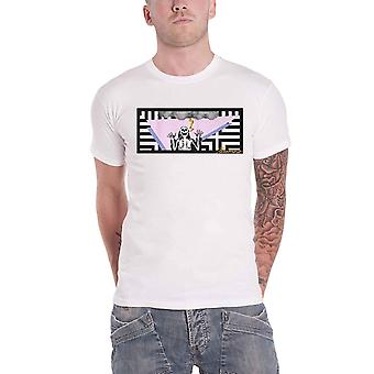 Paramore T Shirt Lightning Skelly Band Logo new Official Mens White