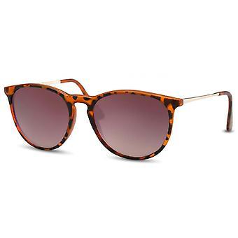 Sunglasses Unisex panto brown(turtle)/brown (CWI367)