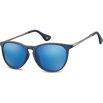 """Solglasögon Unisex Cat.3 matt blå (""""ms24d"""")"""