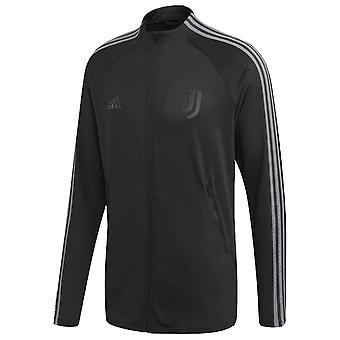 2020-2021 Juventus Adidas Anthem Jacket (Black)