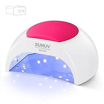 Uv Lamp Nail Dryer For Uv - Led Gel Nail Dryer Infrared Sensor With Rose