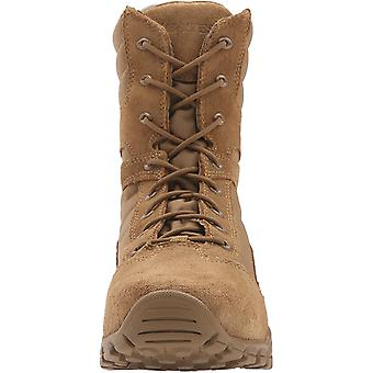 """Bates Men's Cobra 8"""" Hot Weather Military and Tactical Boot, Coyote, 12 X-Wide"""