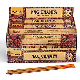Nag Champa Tulasi Incense Sticks X 12 Pack