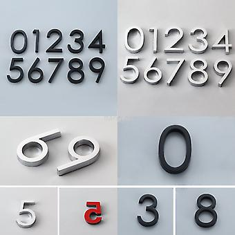 Modern Self Adhesive Door Number Stickers