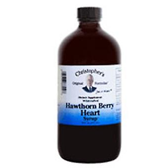 Dr. Christophers Formules Hawthorn Berry Heart Sirop, 16 oz