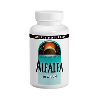 Source Naturals Alfalfa 10 Grain, 648 MG, 1000 Tabs