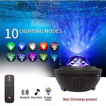 LED Rotation Night Light Projecteur Starry Sky Starr Starr Projecteur Lampe Enfants-apos;s Chambre Décoration Lumières Cadeau