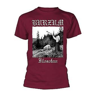 Burzum Filosofem 2018 (maroon) T-paita
