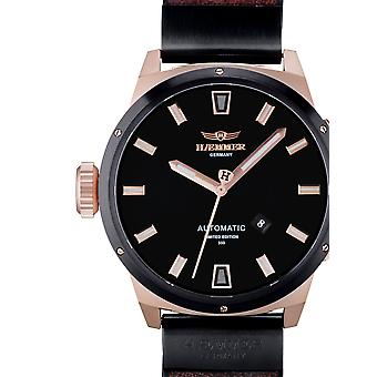 Mens Watch Haemmer HE-01 Rocco, Automatic, 48mm, 10ATM