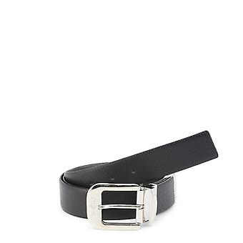 Emporio armani - y4s070ylq2j - men's leather belt