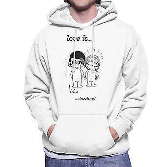 Love Is Dazzling Men's Hooded Sweatshirt