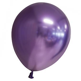 Ballons avec Chrome   Miroir   Reflex Effect Purple 9-pack