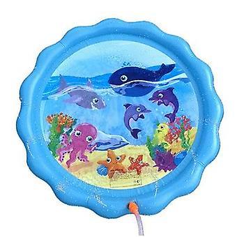الصيف & apos;ق تلعب المياه حصيرة- نفخ رذاذ وسادة لعبة