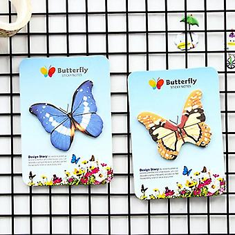 Creative Stationery Butterfly Sticky Notes, Post Planner Notepad  (send