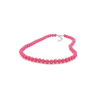 Collana Perline Rosa-rosa 8mm 50cm