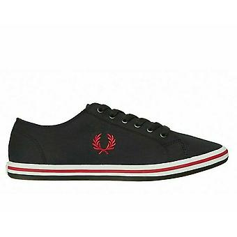 Fred Perry Kingston Twill Plimsolls Casual Shoes B7259-102
