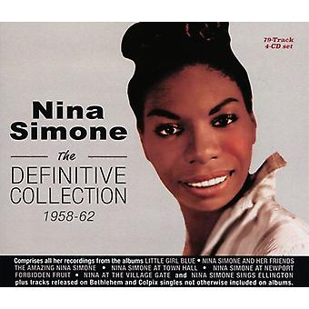 Nina Simone - Definitive Collection 1958-62 [CD] USA import
